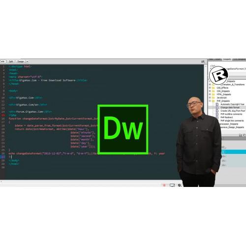 Adobe Dreamweaver - Class